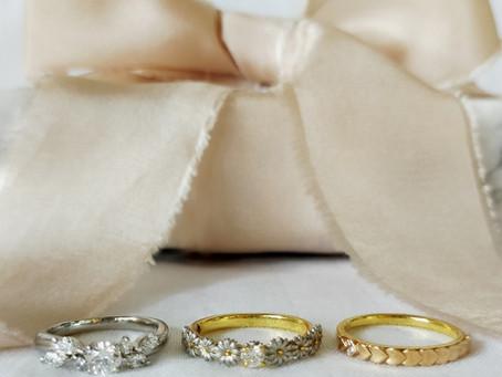 クリスマスにおうちで指輪を選ぼう⛄