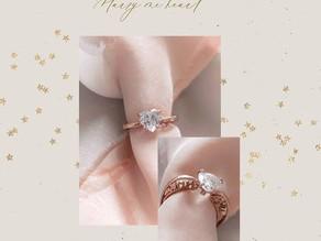 MarryMeHeart 人気のプロポーズリングから新商品登場