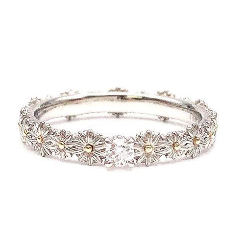 【OnLine限定】Marguerite Solitaire Ring / マーガレット ソリティア フラワークラウンリング BirthdayStone
