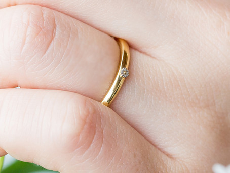 世界で一番かわいいメンズ用結婚指輪