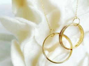 結婚指輪をアレンジしてペンダントをご注文頂いたお客様のご紹介