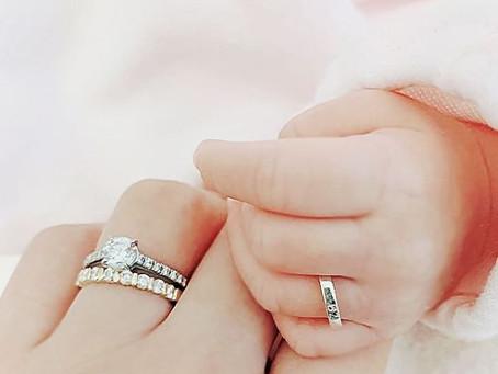 赤ちゃんの指にリングゲージ~赤ちゃん専用のリングゲージ