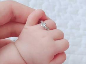 お名前ゆらいジャスミンのbaby ring
