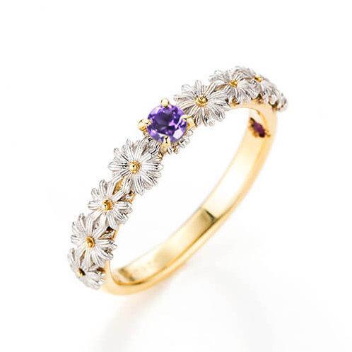 Solitaire Ring / ソリティアリング コンビBirthdayStone