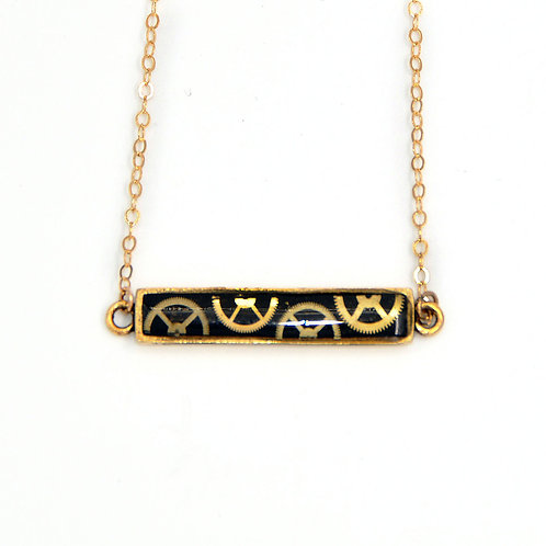 Bar Gold Necklace