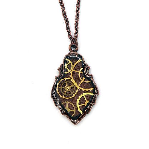 Crest Copper Necklace