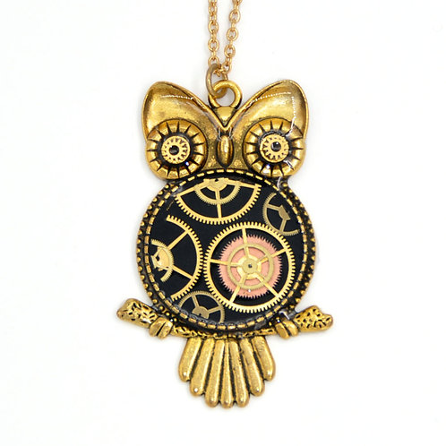 Large Owl Gold