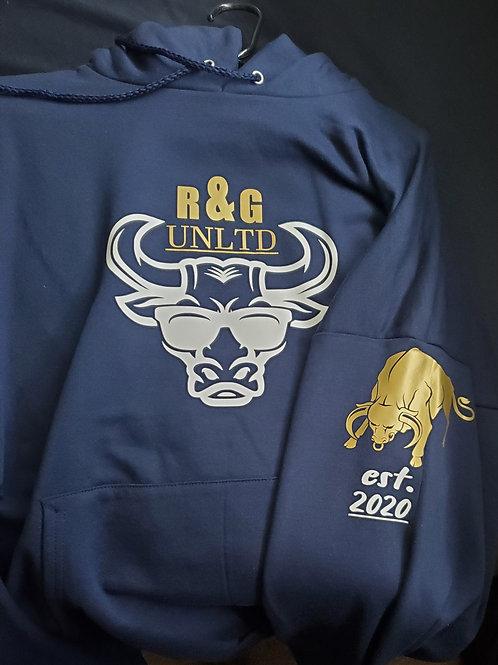 custom unisex hoodie and crew neck sweaters