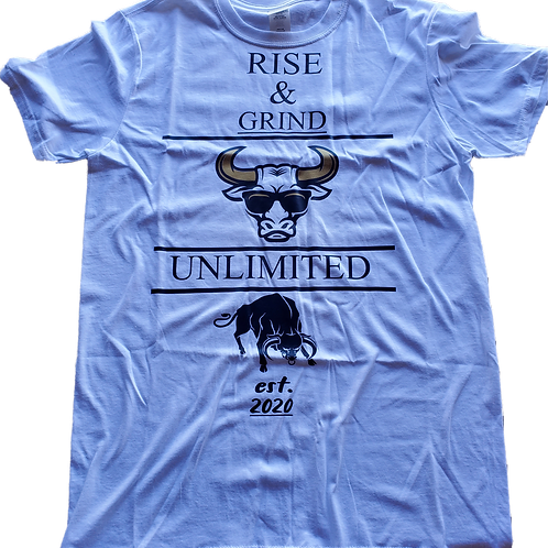 Rise & Grind Gold Horns