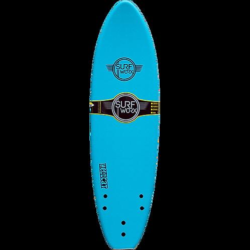 Surfworx Hellcat 6'6 Softboard