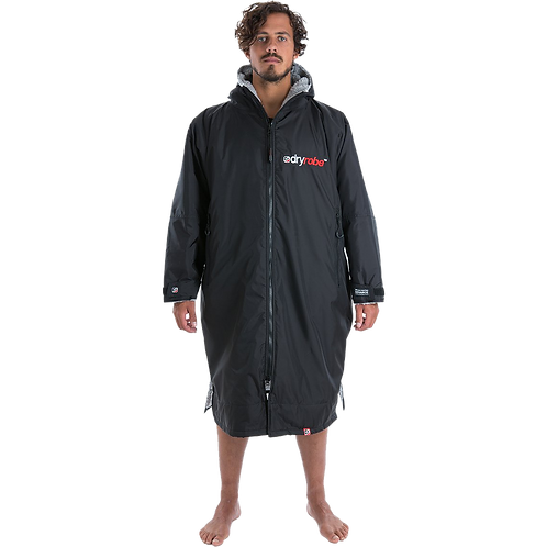 Dryrobe Advance Long Sleeve Changing Robe Grey