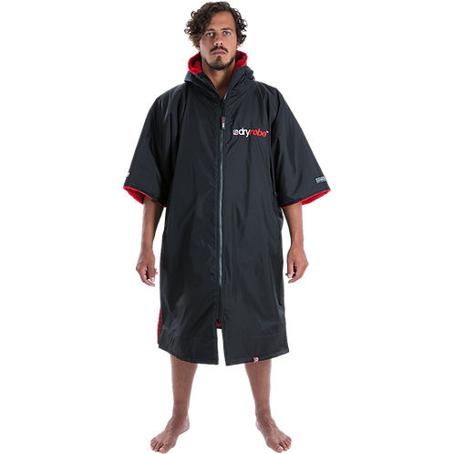 Dryrobe Advance Short Sleeve Changing Robe Red