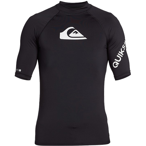Quiksilver Mens All Time Short Sleeve Rash Vest
