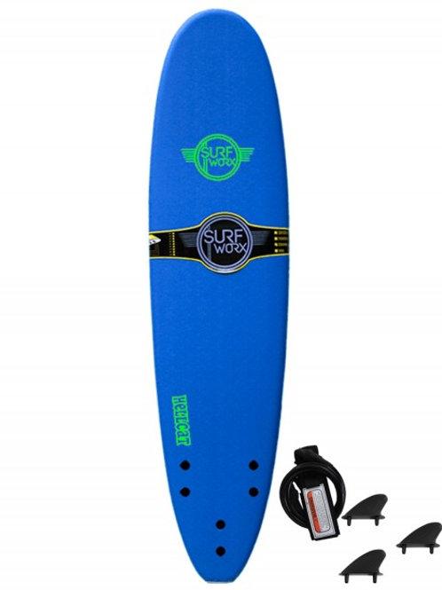 Surfworx Hellcat 7'6 Mini Mal Soft Surfboard