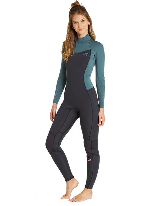 Billabong 5/4mm Girls Furnace Synergy Backzip