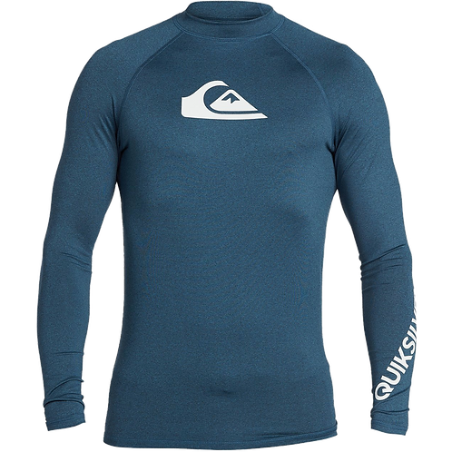 Quiksilver Mens All Time Long Sleeve Rash Vest