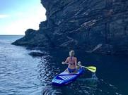 Coastal exploration on Strobe SUP