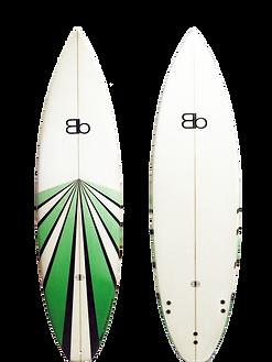 Blackboards Racer surfboard