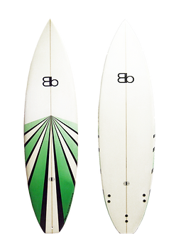 Blackboards Racer surfboard