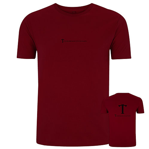 Tombstone Original Tee - Burgundy