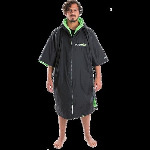 Dryrobe Advance Short Sleeve Changing Robe Green