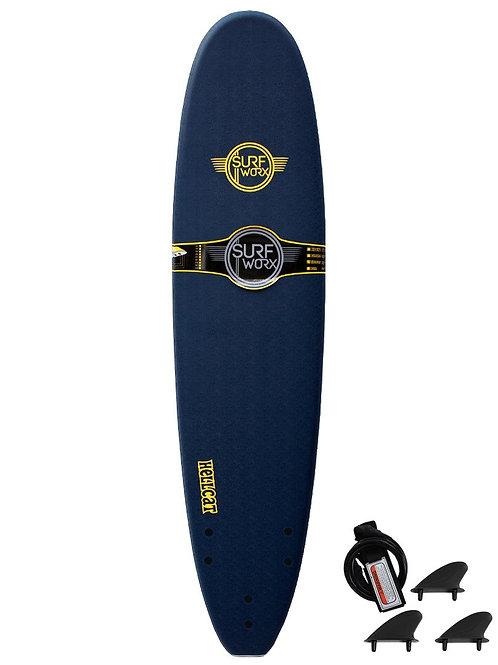 Surfworx Hellcat 8ft Mini Mal Soft Surfboard