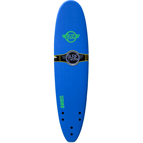 Surfworx Hellcat 7'6 Mini Mal Softboard