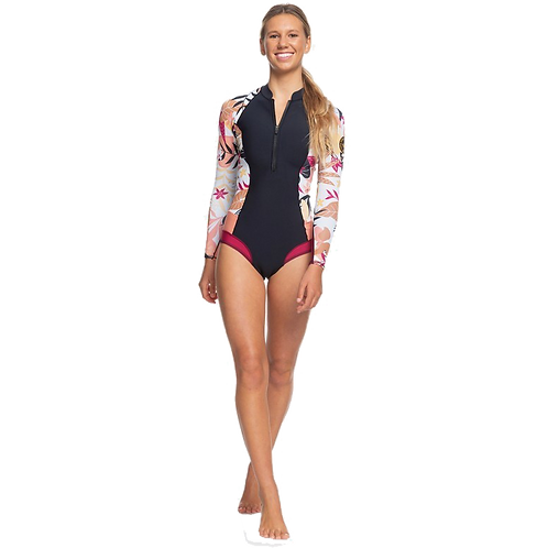 Roxy 1mm Pop Surf Long Sleeve Bikini Cut Shorty