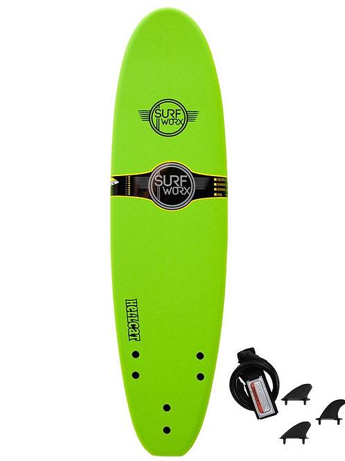 Surfworx Hellcat 7ft Mini Mal Soft Surfboard