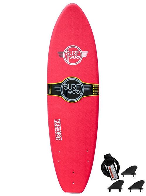 Surfworx Hellcat 6ft Softboard