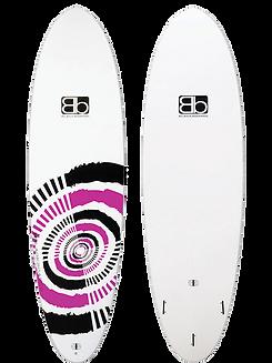 Blackboards Blaster kids surfboard