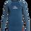 Thumbnail: Quiksilver Boys Backwash Long Sleeve Rash Vest