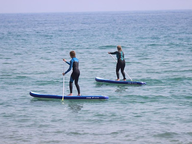 Stand up paddleboarders