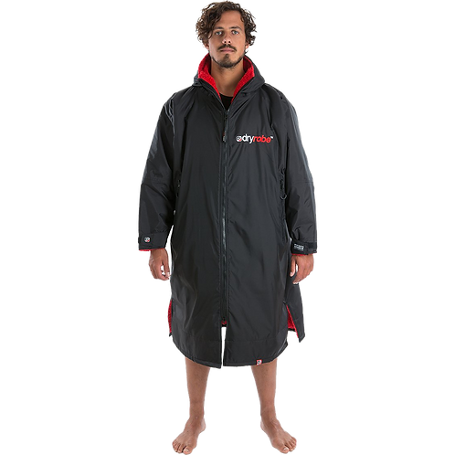 Dryrobe Advance Long Sleeve Changing Robe Red