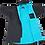 Thumbnail: Dryrobe Advance Short Sleeve Changing Robe Blue