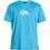 Thumbnail: Quiksilver Mens Solid Streak Loose Fit Short Sleeve Rash Vest