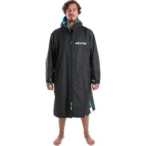 Dryrobe Advance Long Sleeve Changing Robe Blue