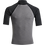 Thumbnail: Billabong Mens Rotor Rash Vest Grey Heather