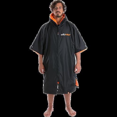 Dryrobe Advance Short Sleeve Changing Robe Orange