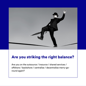 Are you striking the right balance?