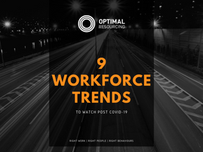 9 Workforce Trends post COVID-19