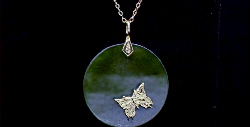 14K Jade Necklace