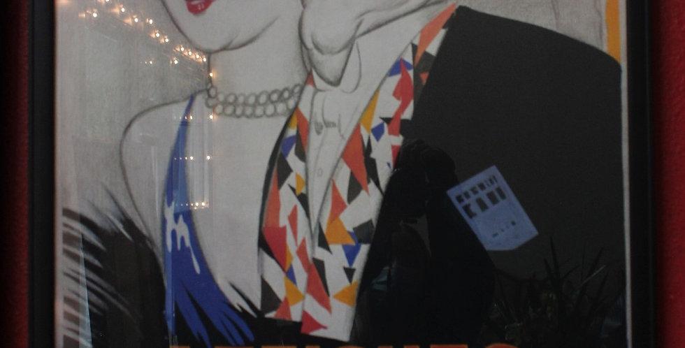 Poster Art Framed