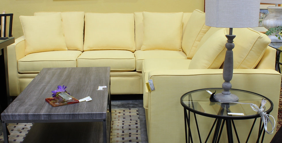 Castellano 2 pc Butter Texture Sectional