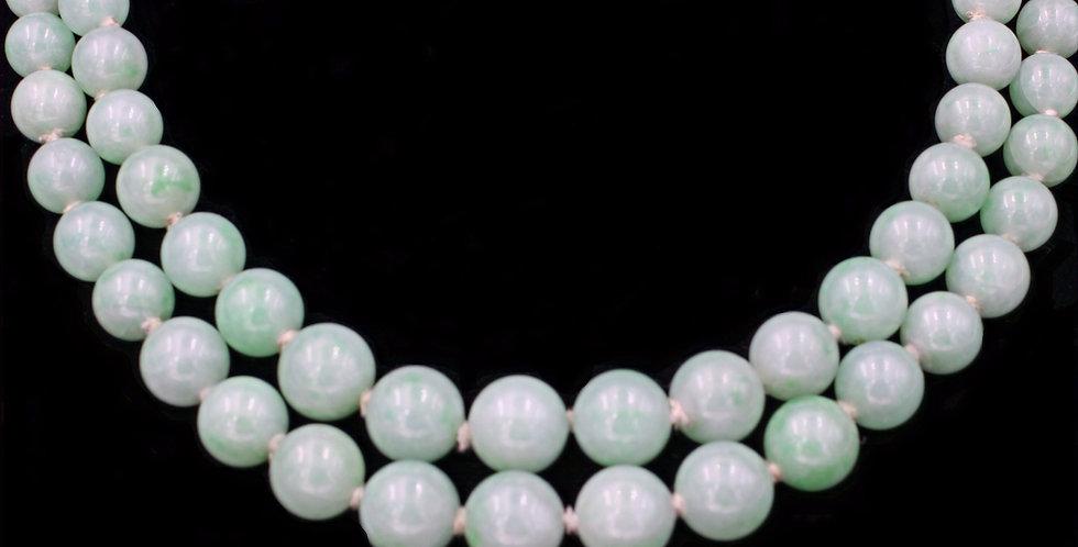 Vintage Jadeite Jade Necklace