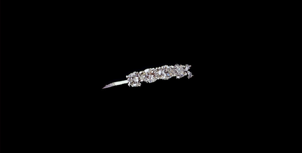 Platinum .50 Carat Total Weight Diamond Band