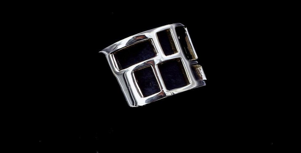 18K Modern Design Band Ring