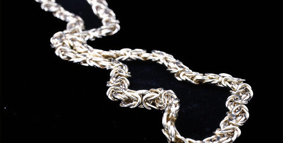 14K Yellow gold Byzantine Chain