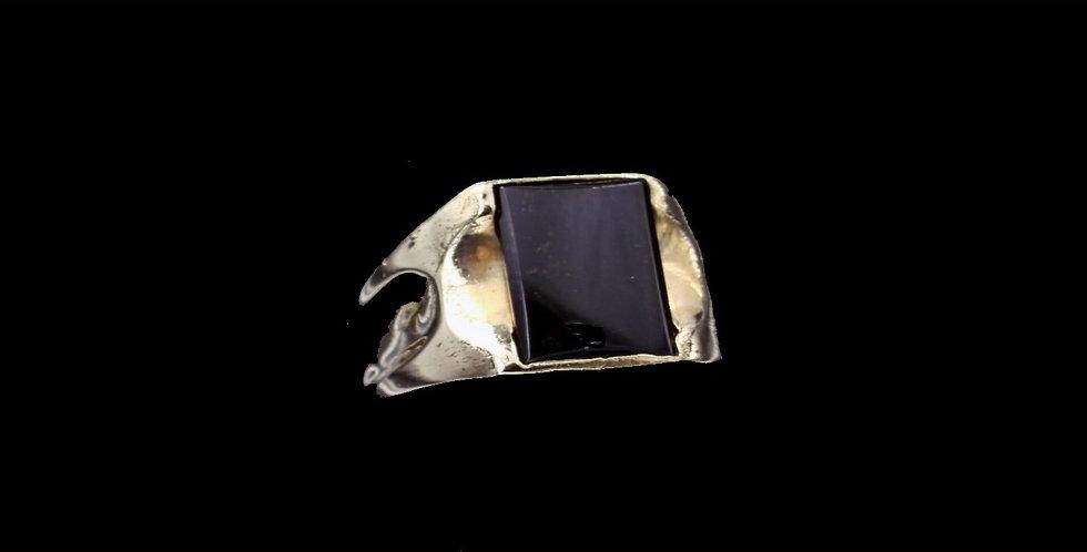 14K Onyx Ring