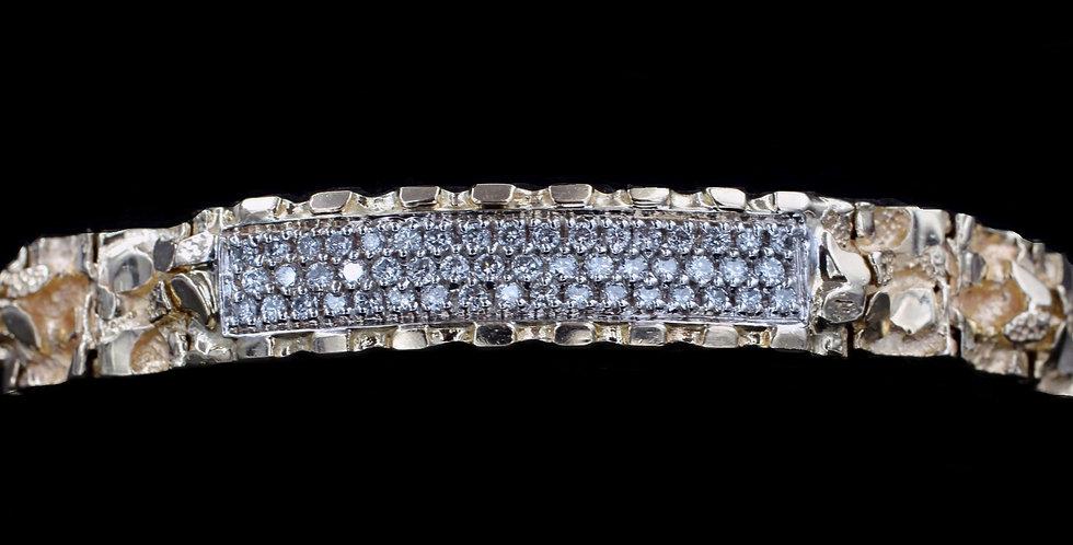 14K 1.00ct twt. Diamond Bracelet